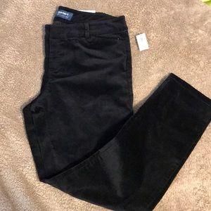 """Old Navy """" Pixie"""" Ankle Velvet Pants"""